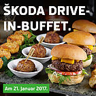 ŠKODA Drive-in Buffet am 21. Januar 2017