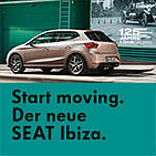 Start moving. Der neue SEAT Ibiza.